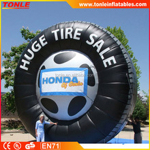 huge inflatable tire for sale, inflatable tire billboard