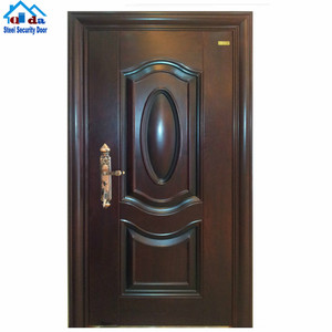 exterior metal door/metal double doors exterior/flat exterior door