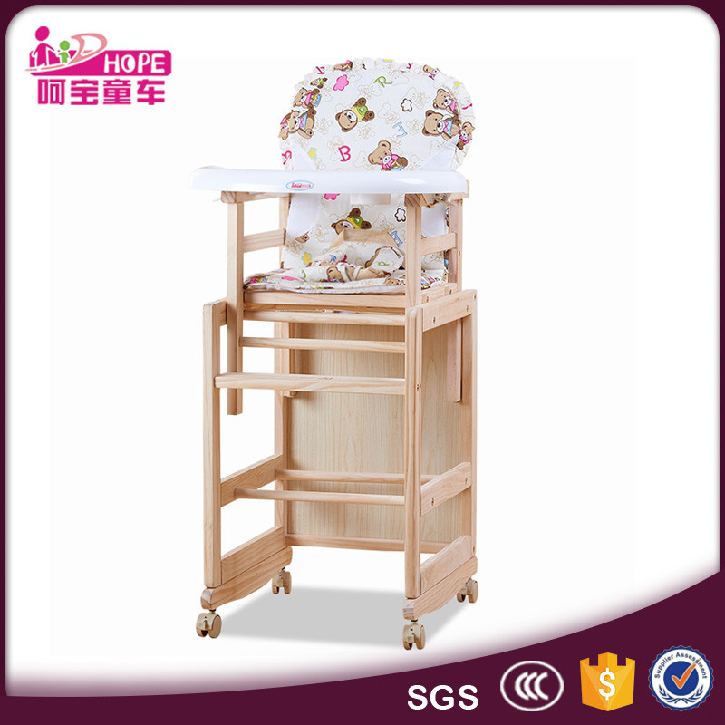 Strange 2 In 1 Separated Baby High Chair Type Solid Pine Wood Material Eating Chair For Kids Buy 2 In 1 Baby High Chair Baby Eating Chair Baby Wood Chair Caraccident5 Cool Chair Designs And Ideas Caraccident5Info