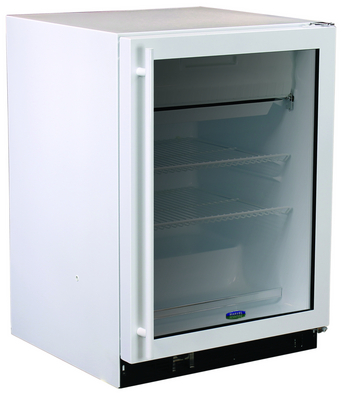 Northland / Marvel - 6CRF7104 - Marvel Scientific Undercounter Refrigerator/Freezer with Glass Door, Aga Marvel White Cabinet w