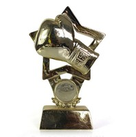 Custom boxing trophy