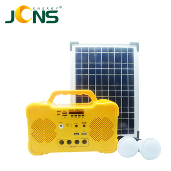 JCN FY001 solar power audio system MP3 player for camping use