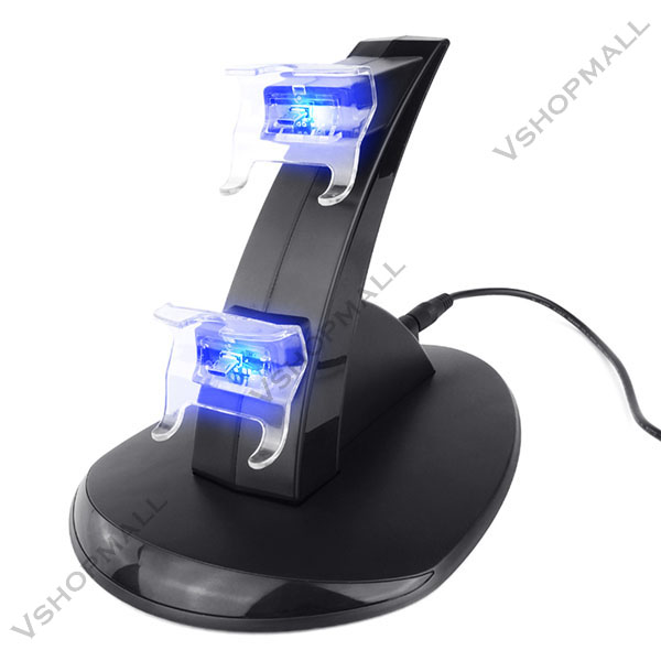 2015 New USB LED Fast Charging Station Stand Dock Charger