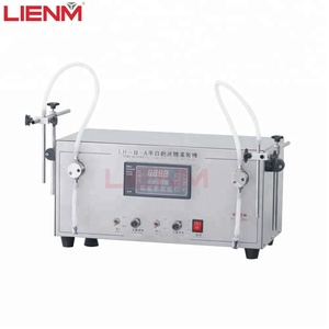 semi automatic magnetic pump liquid filling packing machine for essential oil/perfume small bottle filler