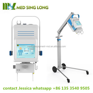 Simple & light structure medical digital x-ray price / portable x-ray machine used in body MSLPX02A