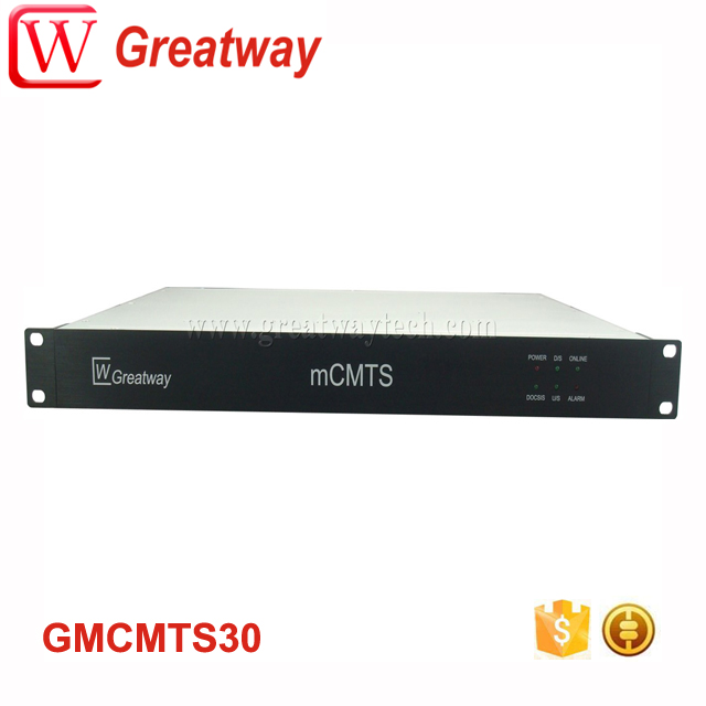Rack Mount DOCSIS3.0 Mini CMTS GmCMTS30 for Cable Modem