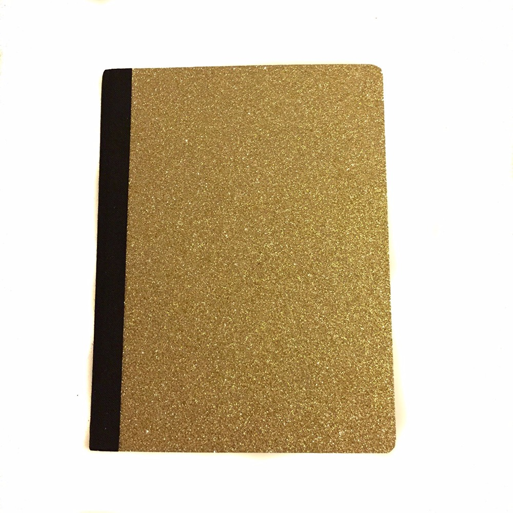 2017 Customisable Glitter Notebook and Diary