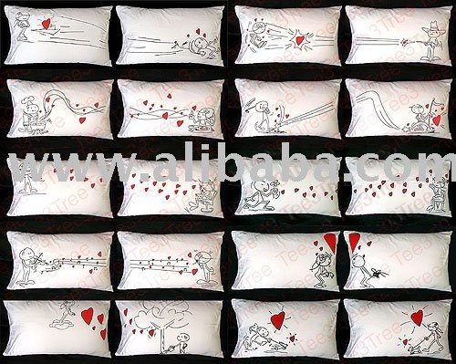 Couple Love Valentine Gift Pillow Cases New Design - Buy Pillow Cases Valentine Gift Love Product on Alibaba.com