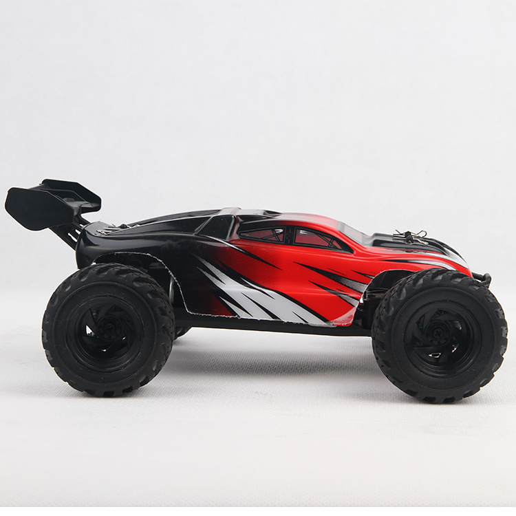 Red color anti collision rock crawler 1/18 scale 4x4 rc truck