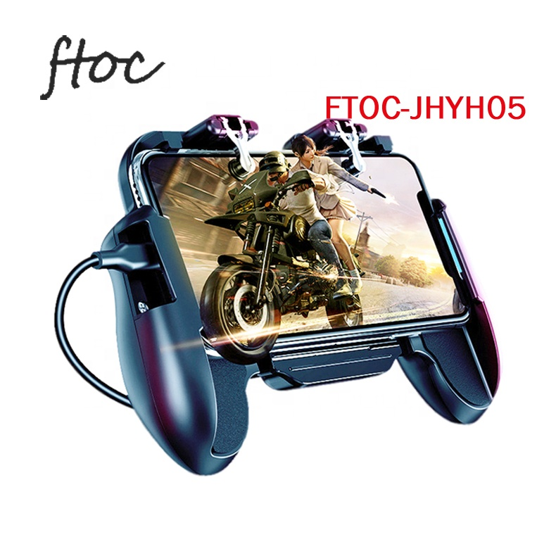 Mobile Game Controller Joystick L1R1 Gamepad for PUBG/Fortnite/Knives Out, Mobile Gaming Joysticks for Android IOS фото