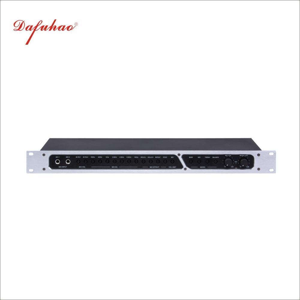 DSP99 Professional KTV Pre-amplifier Karaoke Reverber Tuning Effect Instrument