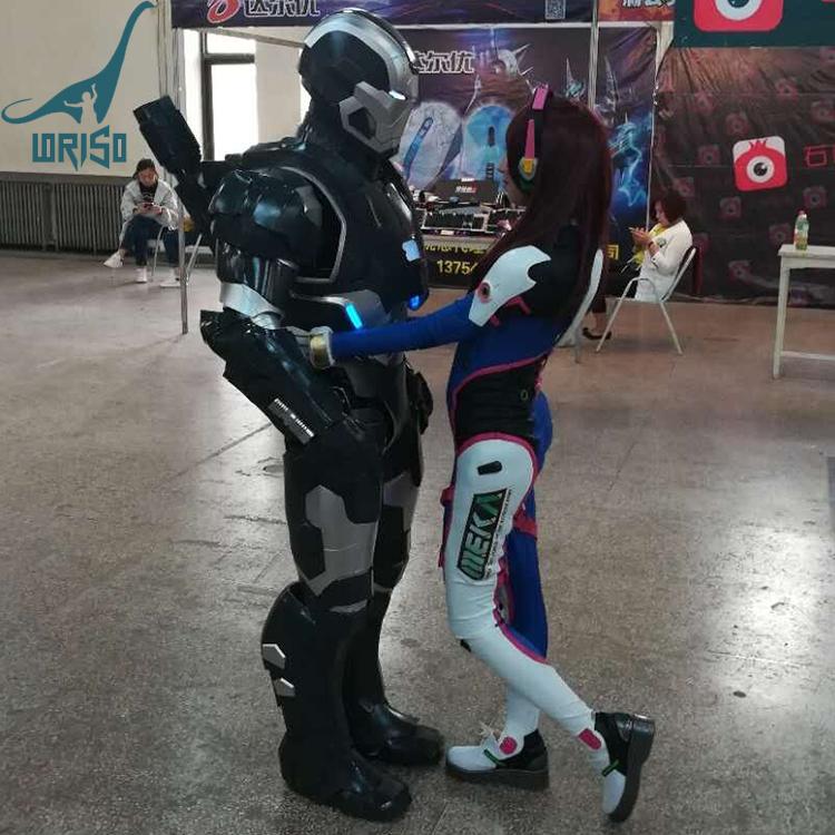 LORISO9023 ハロウィンパーティー大人戦争機械アイアンマン衣装
