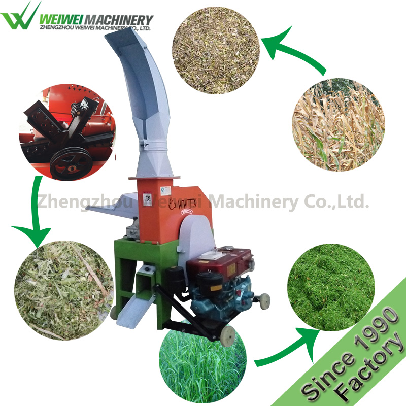 Weiwei agriculture chaff cutter agricultural machinery cutter