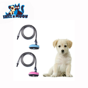 Pet Dog Shower Head Multifunctional Bath Sprayer for Dogs Cats Bathing Massage Cleaning Pet Grooming Tool