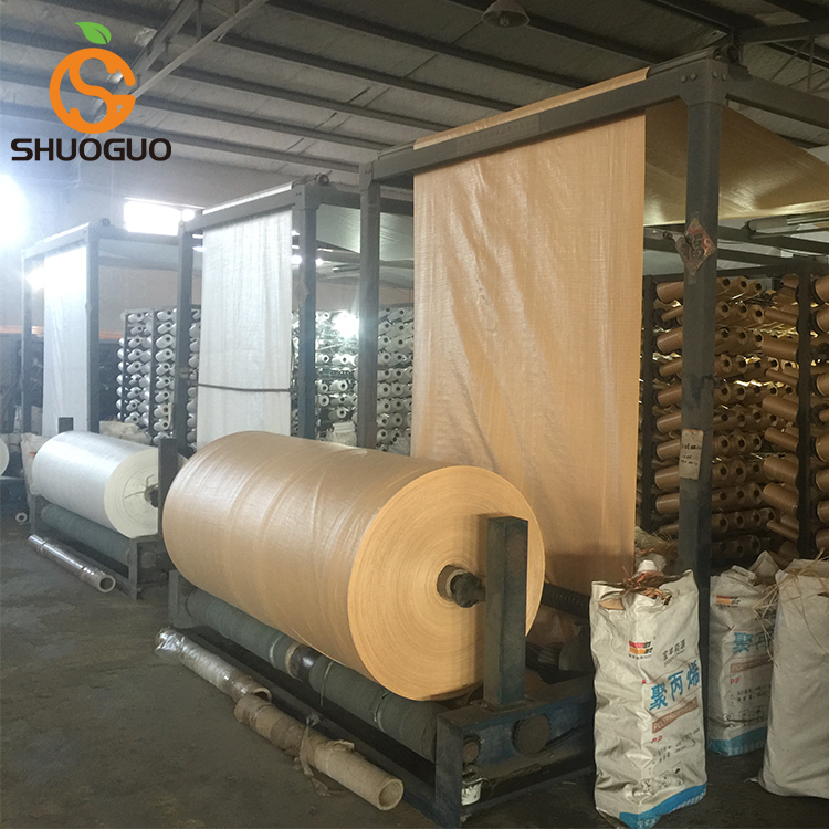 woven polypropylene fabric in roll tubular bag in roll