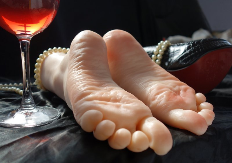 Silicone feet sex toy apologise, but