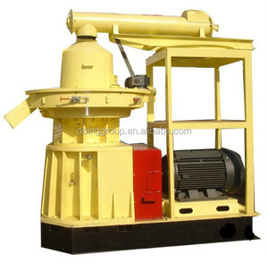 0.5-0.8 ton small mini press machine ring die mills biomass sawdust wood pellet mill
