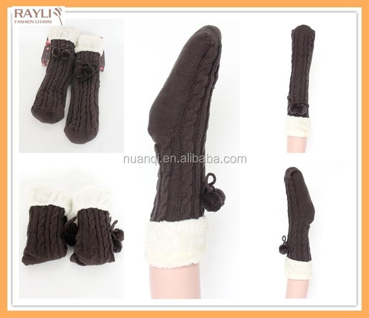 2016 Yiwu Nuanqi Knitting Factory Wholesale Fleece Lining Winter ...