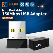 Best Buy COMFATS CF-WU712P USB Mini WiFi Wireless Adapter WI-FI Network Card Networking WI FI Adapter