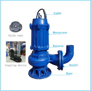 3 Inch 22kw 200m3/h 100m3/h Electric Submersible 1 Hp Sewage submersible pump