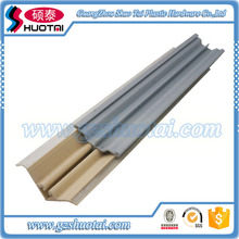 Aluminum Foil waterproof PVC Skirting Board aluminium kitchen plinth