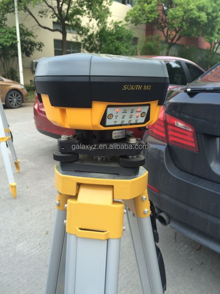 Dual frequency GNSS RTK surveying South S82 RTK gps base and rover