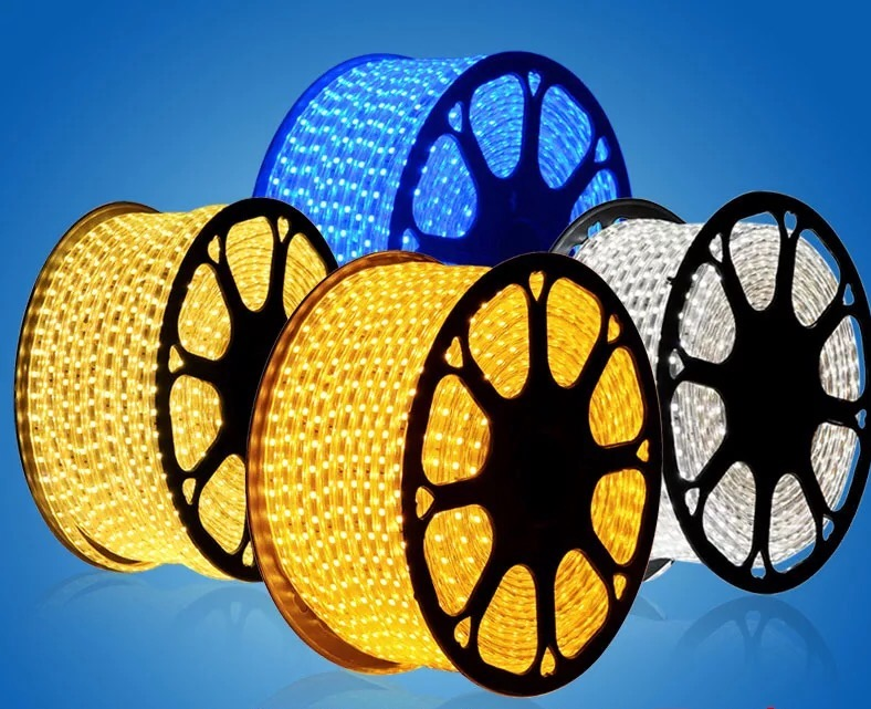5050/60 THREE-CHIPL flexible wholesale 14-16LM 6mm PCB 14.4W tape bulk price water proof 5050 hidden led strip light