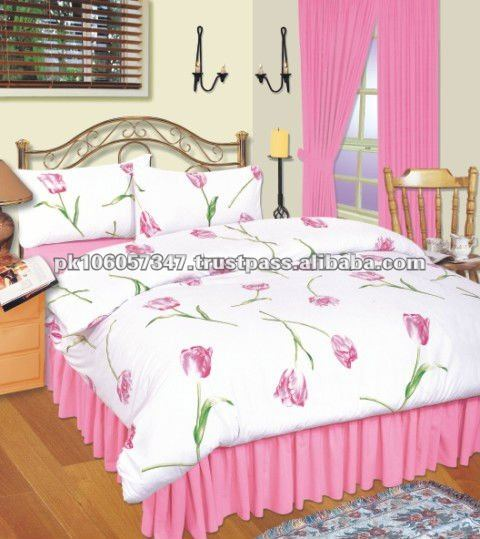 Best Quality New Design Cotton Printed Bed Sheet