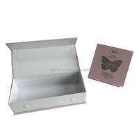 Newly Paper lid Hinge Base Packaging Box with magnet closure cardboard Gift box hot Stamping paper Box