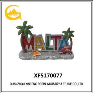 High Quality Resin Office Decoration for Malta Souvenir