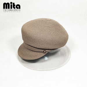 2c1d933dc02 Duck tongue hat Ladies beret summer sun hat beach hat for