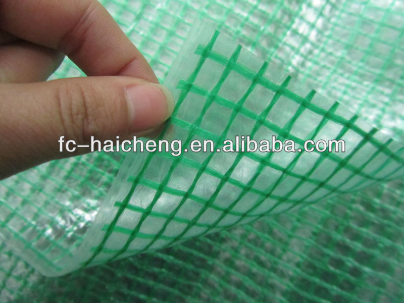 plastic cover for green house heat resistant tarpaulin sheet/film
