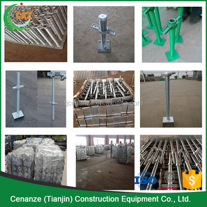 scaffolding parts types of adjustable screw jack stands