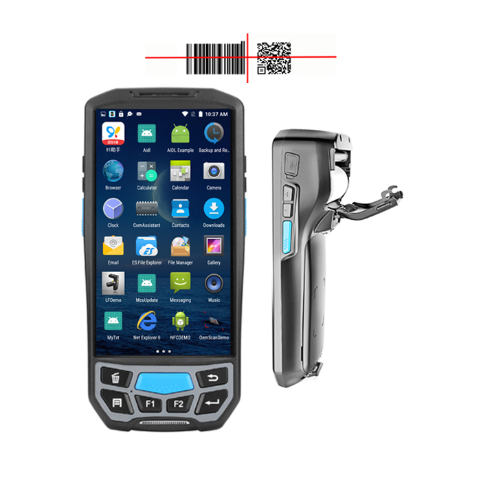 Mobile Barcode Scanner Android Pda Printer Manufacturers Handheld Logistics  Pda With Rfid Wifi Hf Handheld Reader U9300 Pdas - Buy Mobile Barcode
