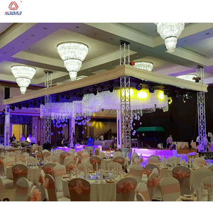 Customized Wedding Decoration Stage Backdrop Truss System