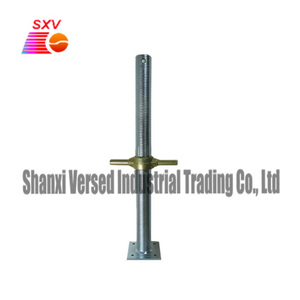 Hollow scaffold base jack screw jack for scaffolding