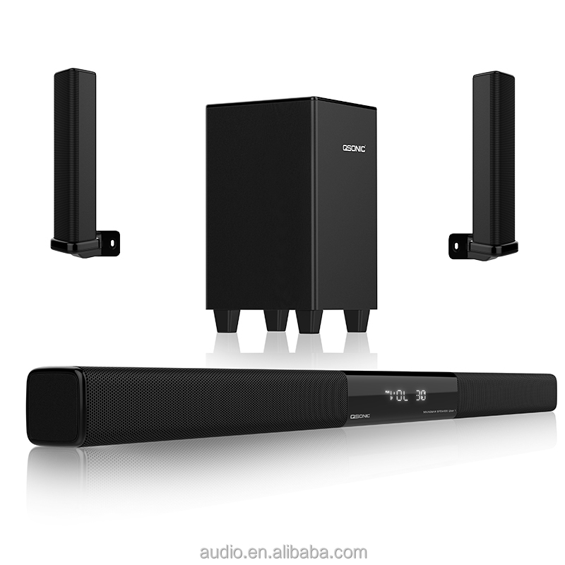 2017 J. SUN Mini TV soundbar BT speaker bar suono per altoparlanti per home theater