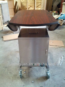 dining trolley cart wooden (JZG-49)