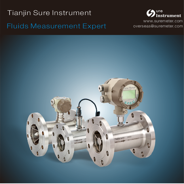 Liquid Turbine Flow Meter Series for most of kinds of pure water measurement