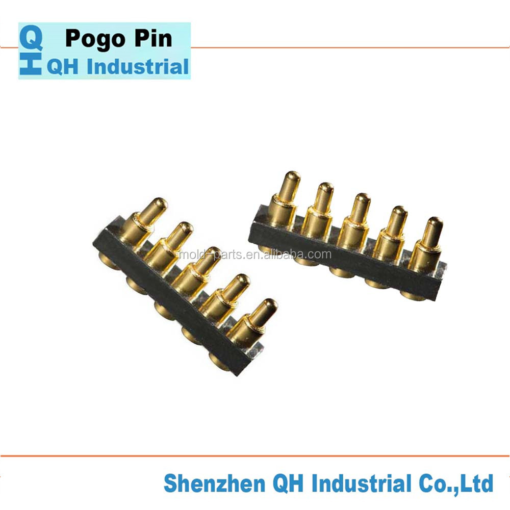 Beryllium Copper Pogo Pin Connector,2Mm Pitch Pogo Pin