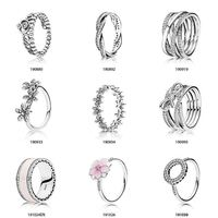 Starland Free Collocation High quality Imitation Fit Pandoras Jewelry Rings Silver 925 Factory Price