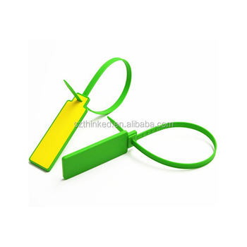 7034c4d5d74e Ntag213 Icode FM1108 MIFARE S50 nfc hf plastic printed price abs nylon  smart zip tie seal