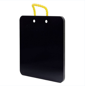 Huao plastic crane foot pad , engineering plastic crane outrigger pads/black customized hdpe crane outrigger mat manufacturers