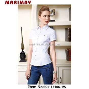 Modelo De Escritório Blusa De Uniformeprojetos Para Blusas Da Moda Para As Mulheres Buy Blusas Da Moda Para As Mulheresmulheres Blusasnovos