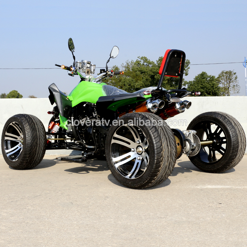 EEC Standard Kawasaki Street Legal Racing ATV 350CC Used Quad Bike