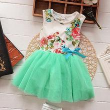 1 5Y Girls font b Dress b font Princess Baby Kids Floral Tops font b Fancy