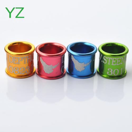 Homing pigeon rings,leg bands for canary budgie birds budgie bird