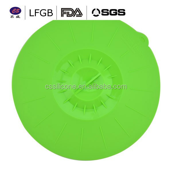 high quality round Silicone lid for cooker