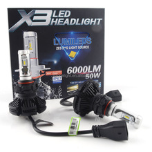 Onelight hot vender X3 <span class=keywords><strong>levou</strong></span> <span class=keywords><strong>H4</strong></span> hid kit de luz led H1 <span class=keywords><strong>levou</strong></span> H3 H7 9005 9006 led farol de luz de iluminação led carro <span class=keywords><strong>levou</strong></span> kit