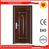 latest cheap interior security cold rolled steel single doors design for personal house